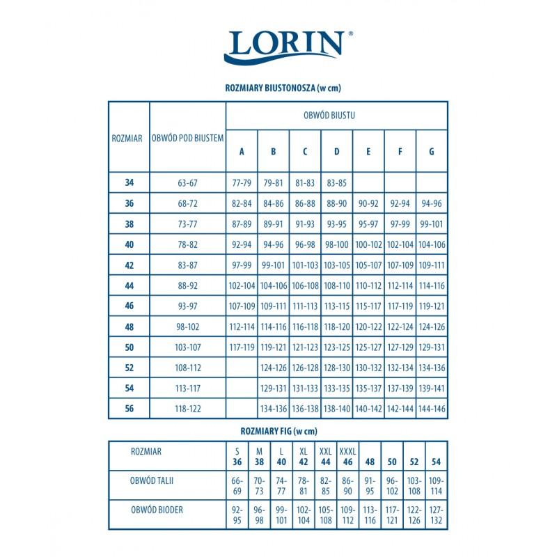 9b60a716819b Lorin Kostium Kąpielowy L 2100 7 Kwiatki Push-Up - Sklep Venessa