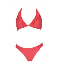 Beach Panties Strój kąpielowy Łosoś neonowy